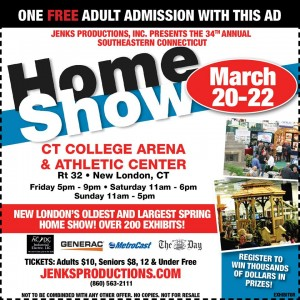 free adult admission for 34th annual southeastern ct homeshow